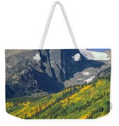 310221-v-hallet Peak In Autumn V  Weekender Tote Bag