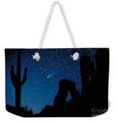 Halley's Comet Weekender Tote Bag