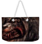 Halloween -  Mad Dog Weekender Tote Bag by Mike Savad