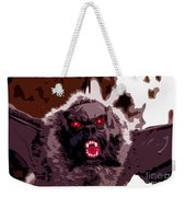 Halloween Bat Weekender Tote Bag