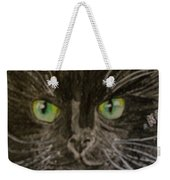 Halloween Black Cat I Weekender Tote Bag