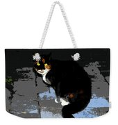 Halloween Cat Weekender Tote Bag