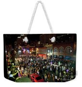 Halloween Draws Tens Of Thousands To Celebrate On 6th Street Weekender Tote Bag