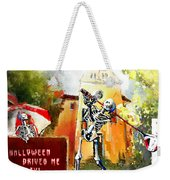Halloween Drives Me Crazy Weekender Tote Bag
