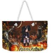 Halloween Girl Weekender Tote Bag