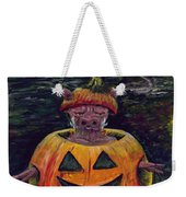 Halloween Hog Weekender Tote Bag