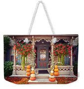 Halloween In A Small Town Weekender Tote Bag