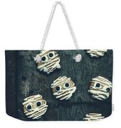 Halloween Mummy Cookies Weekender Tote Bag