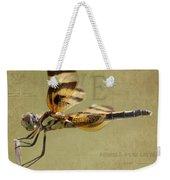 Halloween Pennant Dragonfly Weekender Tote Bag
