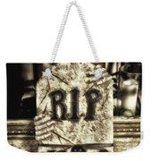 Halloween Rip Rest In Peace Headstone Weekender Tote Bag