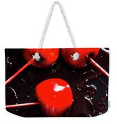 Halloween Toffee Apples Weekender Tote Bag