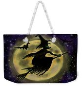 Halloween Witch Weekender Tote Bag