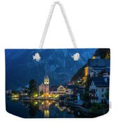 Hallstat Village Weekender Tote Bag