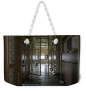 Hallway With Solitary Confinement Cells In Prison Hospital Weekender Tote Bag