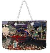 Halong Bay Harbor Scene Weekender Tote Bag