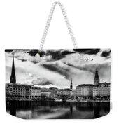 Hamburg At Sunset Weekender Tote Bag