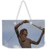 Hamer Tribe Woman, Ethiopia  Weekender Tote Bag