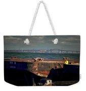 Hamilton Harbor- Pier 8 Weekender Tote Bag