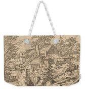 Hamlet On A Mountain Side Weekender Tote Bag