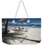 Hammock On The Beach Weekender Tote Bag
