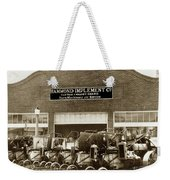 Hammond Implement Company Farm Machinery 1924 Weekender Tote Bag