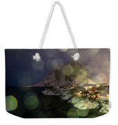 Hamnoy During A Storm Weekender Tote Bag