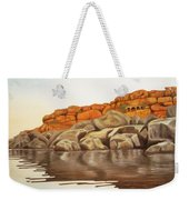Hampi On Tungabadra Weekender Tote Bag