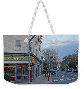 Hampshire Cafe Hampshire Street Cambridge Ma Weekender Tote Bag