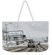 Hampton Beach Nh After The Storm Weekender Tote Bag