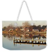 Hampton Virginia Sunrise Weekender Tote Bag
