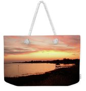 Hampton Virginia Sunset Weekender Tote Bag