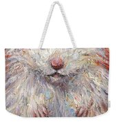 Hamster Painting  Weekender Tote Bag