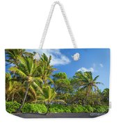Hana Palm Tree Grove Weekender Tote Bag by Inge Johnsson