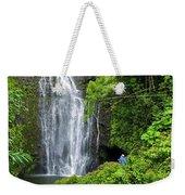 Hana Waterfall Weekender Tote Bag