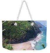 Hanakapiai Beach - Kalalau Trail - Kauai Hawaii Weekender Tote Bag