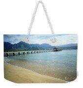 Hanalei Bay And Pier Weekender Tote Bag