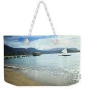 Hanalei Bay Outrigger Weekender Tote Bag