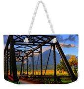 Hanalei Bridge Weekender Tote Bag