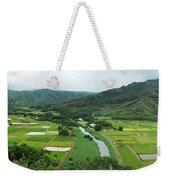 Hanalei Taro Fields Weekender Tote Bag