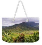 Hanalei Valley Panorama Weekender Tote Bag