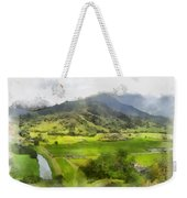 Hanalei Valley Weekender Tote Bag