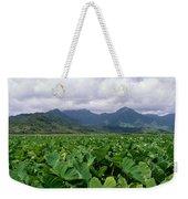 Hanalei Valley Taro Field Weekender Tote Bag