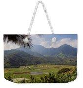 Hanalei Valley Taro Fields - Kauai Weekender Tote Bag
