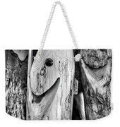 Hand Carved Fish Sculptures B Weekender Tote Bag
