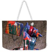Hand Coming Out Of Paint Can Weekender Tote Bag