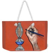 Hand Drawing Lamp Weekender Tote Bag