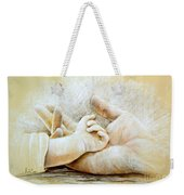 Hand In Hand Weekender Tote Bag