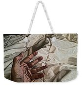 Hand On Comforter Weekender Tote Bag