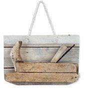 Hand Tool - Old Wood Planer Weekender Tote Bag