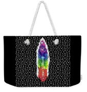 Hand Totem Feather Weekender Tote Bag